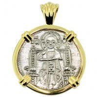 #8864 Venetian Jesus Christ Grosso Pendant