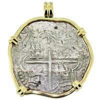 #8931 Atocha Shipwreck 8 Reales Pendant