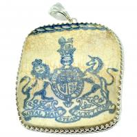 SOLD British RMSP Shipwreck Pottery Pendant; Please Explore Our Pottery Pendants For Similar Items.