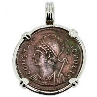 #8960 Constantinopolis Follis Pendant