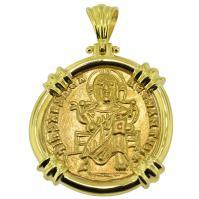 #9000 Jesus Christ Solidus Pendant