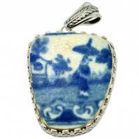 #9012 Caribbean Shipwreck Pottery Pendant