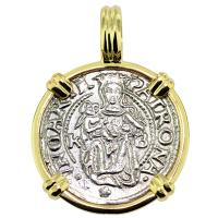 SOLD #9021 Madonna & Child Denar Pendant; Please Explore Our Medieval Category For Similar Items.