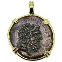 #9034 Zeus & Eagle Pendant