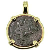 #9036 Constantine Hand of God Follis Pendant
