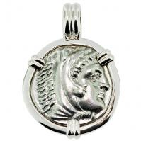 #9042 Alexander the Great Drachm Pendant