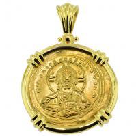 #9053 Jesus Christ Nomisma Pendant