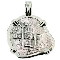 SOLD #9108 Consolacion Shipwreck 1 Real Pendant; Please Explore Our Spanish Shipwreck Pendants For Similar Items.