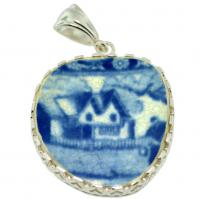 #9112 Caribbean Shipwreck Pottery Pendant