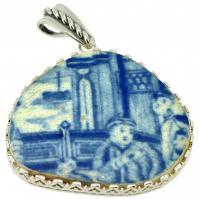 #9113 Caribbean Shipwreck Pottery Pendant
