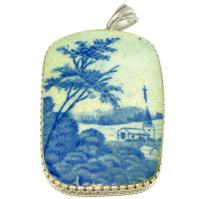 #9118 Caribbean Shipwreck Pottery Pendant
