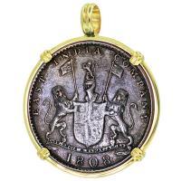 #9184 Admiral Gardner Shipwreck Coin Pendant