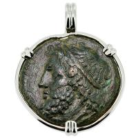 SOLD #9210 Poseidon Tetras Pendant; Please Explore Our Greek Pendants For Similar Items.
