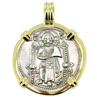 #9241 Venetian Jesus Christ Grosso Pendant
