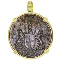 SOLD #9243 Admiral Gardner Shipwreck Coin Pendant; Please Explore Our Admiral Gardner Shipwreck Pendants For Similar Items.