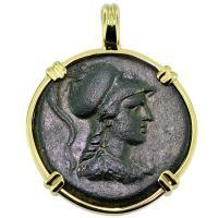 #9271 Athena & Eagle Pendant