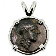 #9272 Athena & Owl Pendant