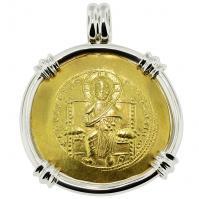 #9296 Jesus Christ Nomisma Pendant