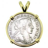 SOLD Italian Shipwreck Luigino Pendant; Please Explore Our Colonial European Pendants For Similar Items.