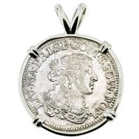 SOLD Italian Shipwreck Luigino Pendant; Please Explore Our Colonial European Pendants For Similar Items.