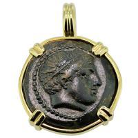SOLD #9330 Philip II Apollo & Horseman Pendant; Please Explore Our Greek Pendants For Similar Items.