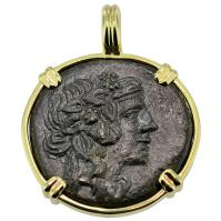 SOLD Dionysus & Cista Mystica Pendant; Please Explore Our Greek Pendants For Similar Items.