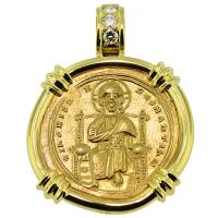 #9349 Jesus Christ Nomisma Pendant