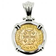 #9352 Portuguese 400 Reis Pendant