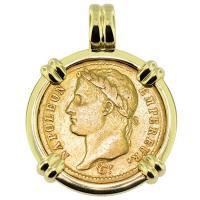 #9354 Napoleon 20 Francs Pendant