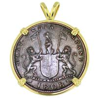 SOLD #9355 Admiral Gardner Shipwreck Coin Pendant; Please Explore Our Admiral Gardner Shipwreck Pendants For Similar Items.