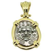 SOLD Gorgon Drachm Pendant; Please Explore Our Greek Pendants For Similar Items.