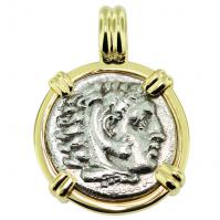 #9395 Alexander the Great Drachm Pendant