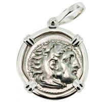 #9396 Alexander the Great Drachm Pendant