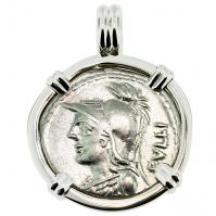 #9416 Minerva & Victory Denarius Pendant