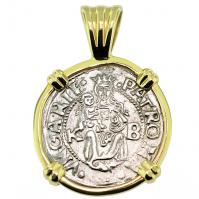 SOLD Madonna & Child Denar Pendant; Please Explore Our Medieval Category For Similar Items.