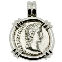 #9452 Caesar Augustus Denarius Pendant