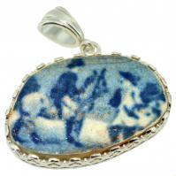 #9472 Caribbean Shipwreck Pottery Pendant