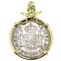 SOLD El Cazador Shipwreck 2 Reales Pendant; Please Explore Our Spanish Shipwreck Pendants For Similar Items.