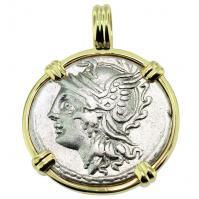 #9515 Roma and Victory Denarius Pendant
