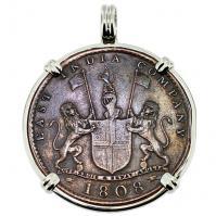 #9571 Admiral Gardner Shipwreck Coin Pendant