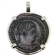 #9584 Constantine the Great & Sol Pendant