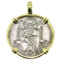 #9600 Venetian Jesus Christ Grosso Pendant