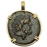 SOLD Zeus & Eagle Pendant; Please Explore Our Greek Pendants For Similar Items.