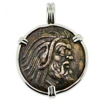 SOLD Pan & Griffin Pendant; Please Explore Our Greek Pendants For Similar Items.