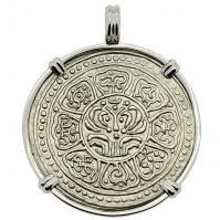 SOLD Tibetan Ga-Den Tanka Pendant; Please Explore Our Asian Pendants For Similar Items.