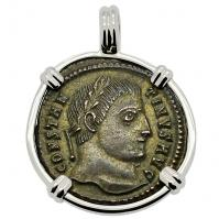 SOLD Constantine the Great Pendant; Please Explore Our Roman Pendants For Similar Items.