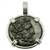 SOLD Asclepius & Serpent Staff Pendant; Please Explore Our Greek Pendants For Similar Items.