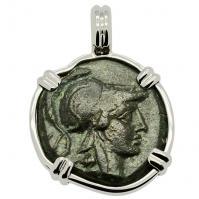 SOLD Athena & Trophy Pendant; Please Explore Our Greek Pendants For Similar Items.