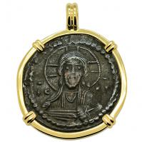 Jesus Christ & Mary Follis Pendant