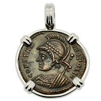Constantinopolis Follis Pendant